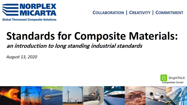 Standards for Composite Materials