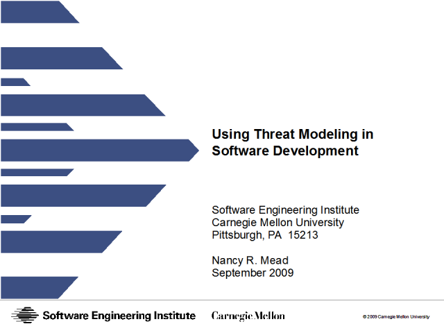 Uses of Threat Modeling in Software Development