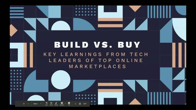 Build vs Buy: Key learnings from tech leaders of top online marketplaces