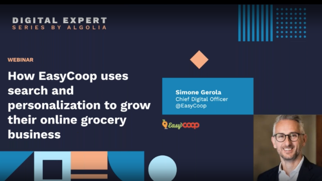 How EasyCoop uses search and personalization to grow their online grocery busine