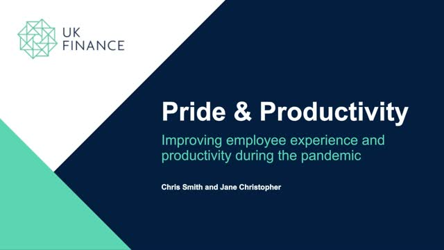 Improving employee experience and productivity during the pandemic