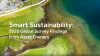 Smart Sustainability: 2020 global survey findings from asset owners