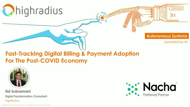 Fast-Tracking Digital Billing & Payment Adoption For The Post-COVID Economy