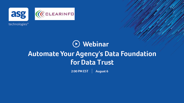 Automate Your Agency's Data Foundation for Data Trust