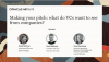 Making your pitch: what do VCs want to see from companies?