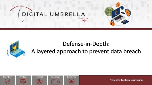 Defense-in-depth: A layered approach to prevent data breach