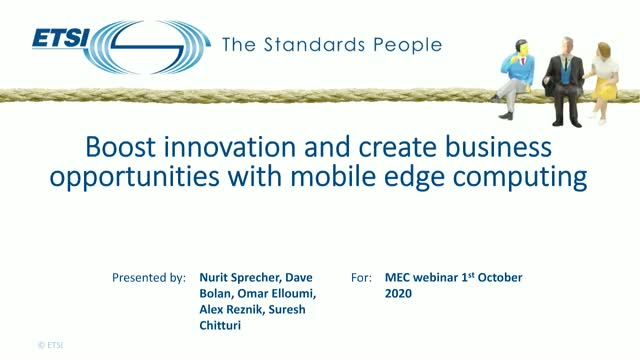 Boost innovation and create business opportunities with mobile edge computing