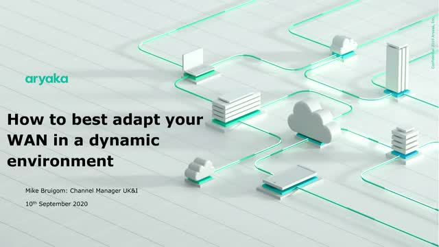 How to best adapt your WAN in a dynamic environment with remote workers?