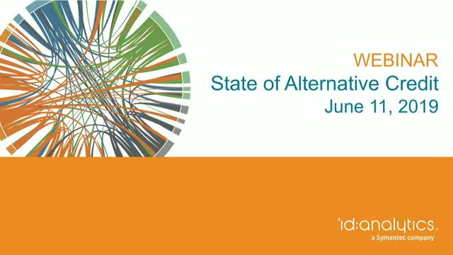 The State of Alternative Credit Data