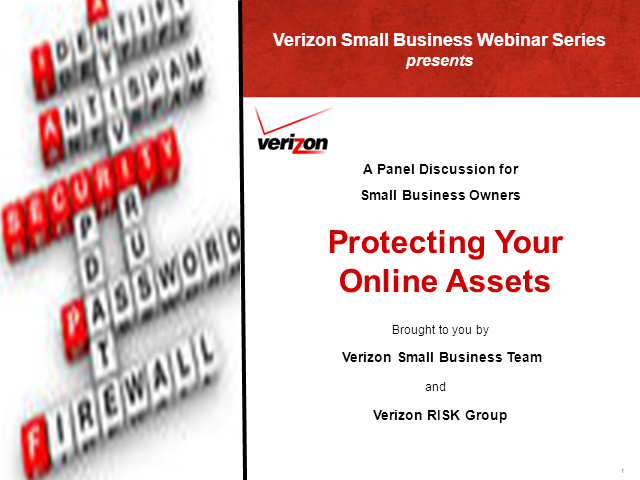 Panel Discussion: Protecting Your Online Assets and Information