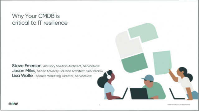 Why your CMDB is critical to IT resilience