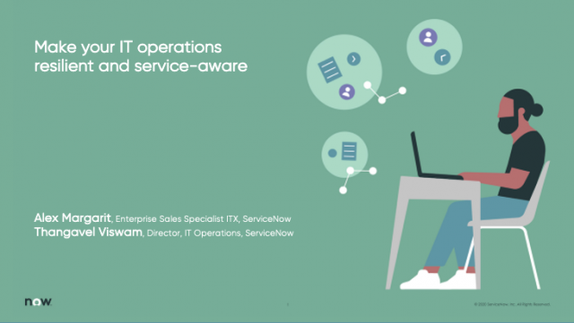 Make your IT operations resilient and service-aware