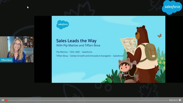 Sales Leads the Way: In conversation with Pip Marlow and Tiffani Bova