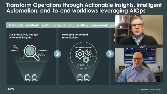 Operate resilient services with visibility, security and AIOps