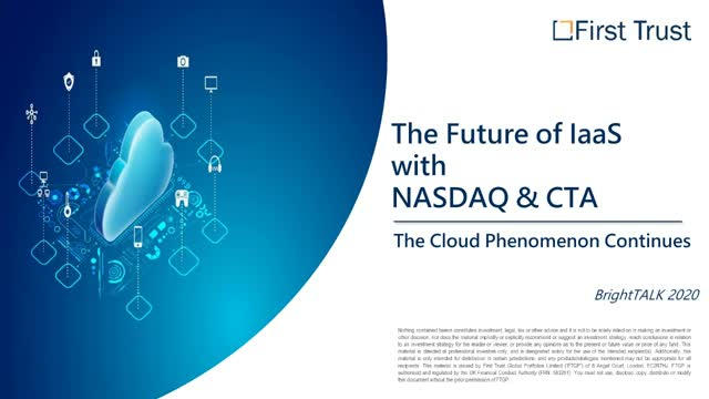 The Future of IaaS with Nasdaq & CTA