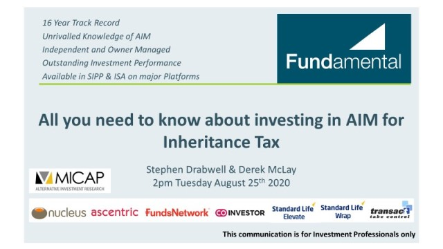 All you need to know about investing in AIM for Inheritance Tax