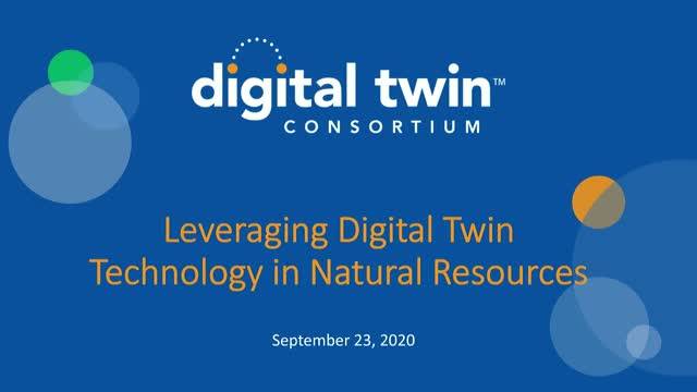 Leveraging Digital Twin Technology  in Natural Resources