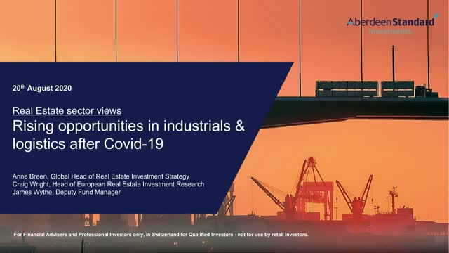 Rising opportunities in industrials and logistics after Covid-19