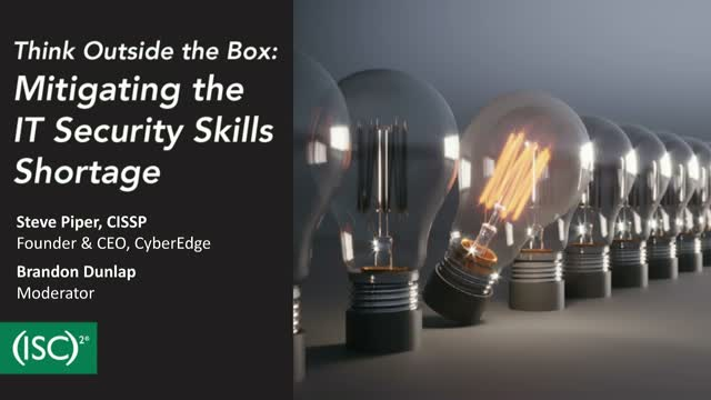 Think Outside the Box: Mitigating the IT Security Skills Shortage