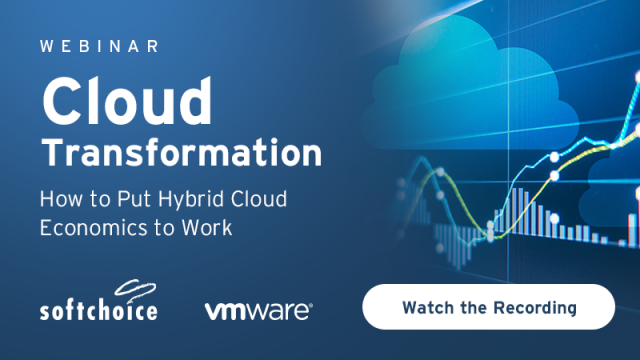 Cloud Transformation: How to Put Hybrid Cloud Economics to Work