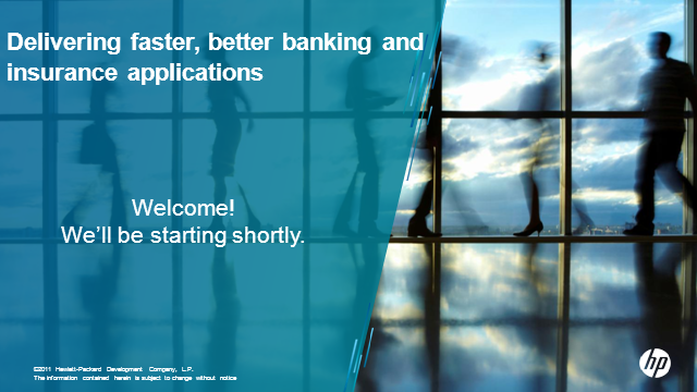 Delivering faster, better banking and insurance applications
