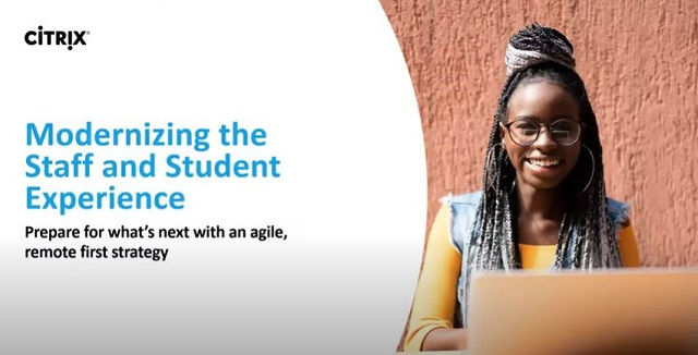Modernizing the Staff and Student Experience