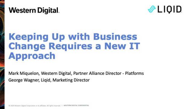 Keeping Up with Business Change Requires a New IT Approach