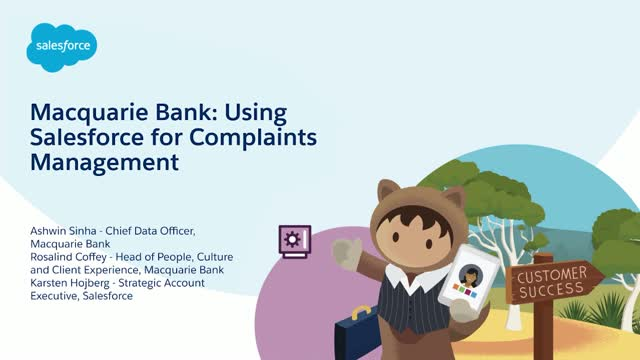 Macquarie Bank: Customer Centric Complaints Management