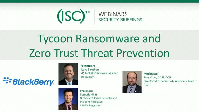 Tycoon Ransomware and Zero Trust Threat Prevention