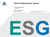 INVESTMENT: ESG & the New Advice Journey