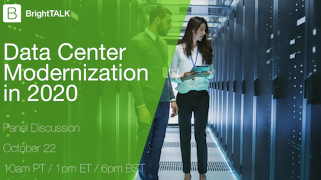 [Panel] Data Center Modernization in 2020