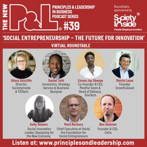 The New P&L 'Social Entrepreneurship - The Future for Innovation' Roundtable
