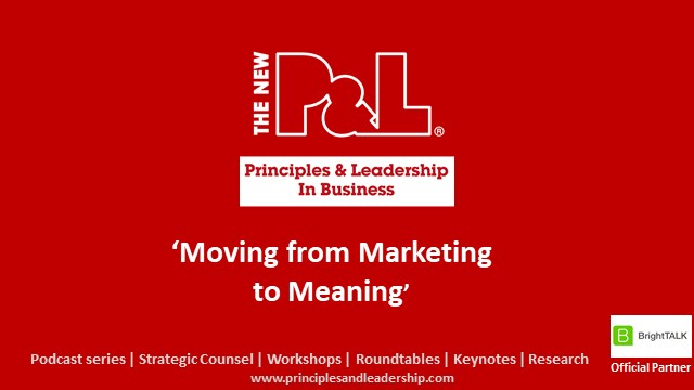Moving from Marketing to Meaning