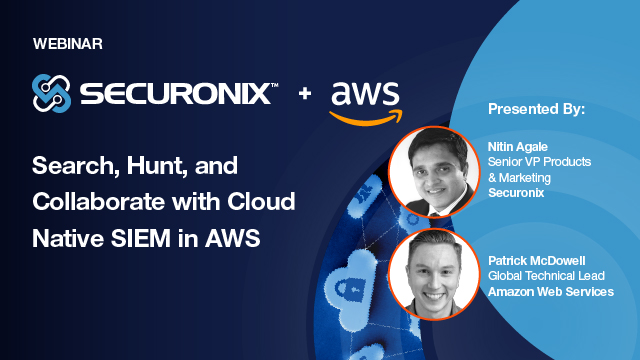 Search, Hunt, and Collaborate with Cloud Native SIEM in AWS