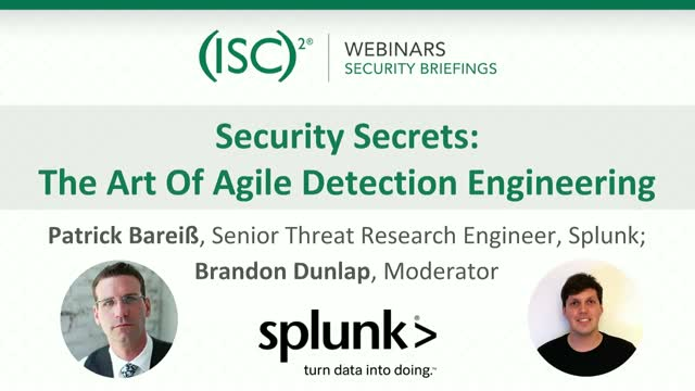 Security Secrets: The Art Of Agile Detection Engineering