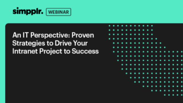 Proven Strategies to Drive Your Intranet Project to Success