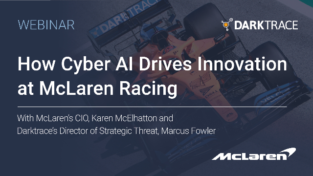 How Cyber AI Drives Innovation at McLaren Racing