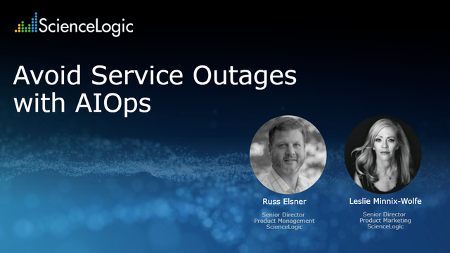 Avoid Service Outages with AIOps
