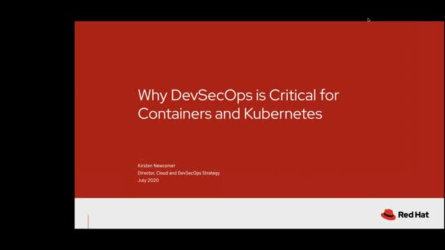Why DevSecOps is Critical for Containers and Kubernetes