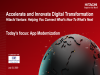 Accelerate and Innovate Digital Transformation - Application Modernisation