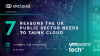 7 reasons the UK public sector needs to think cloud, in fact, hybrid cloud.