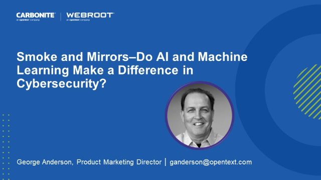 Smoke and Mirrors–Do AI and Machine Learning Make a Difference in Cybersecurity?