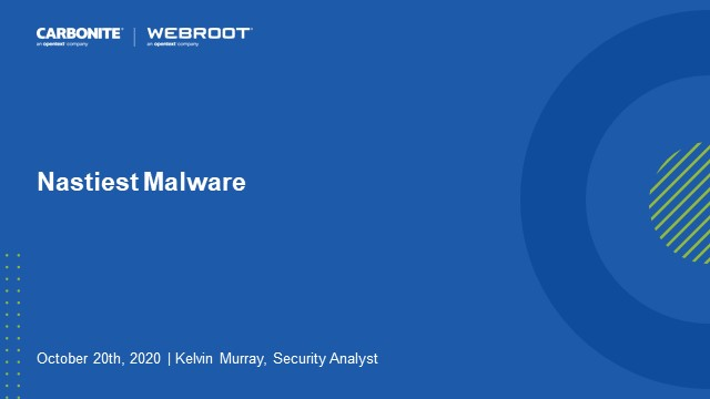 The Nastiest Malware of 2020 for SMBs