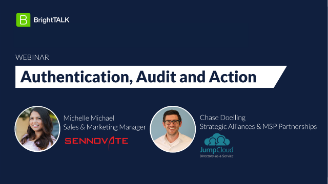 Auth, Audit and Action