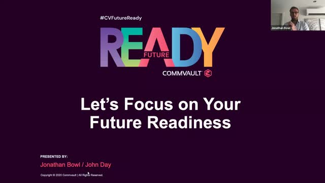 Let's Focus on your Future Readiness