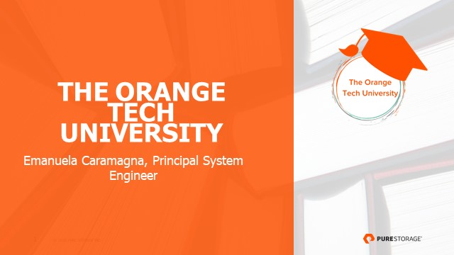 Orange Tech University PSO e Fast Recovery: l'importanza degli SLA di ripristo