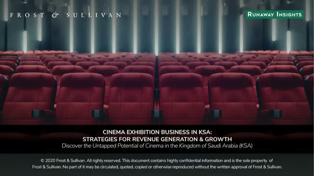 Cinema Exhibition Business in KSA: Strategies for Revenue Generation & Growth