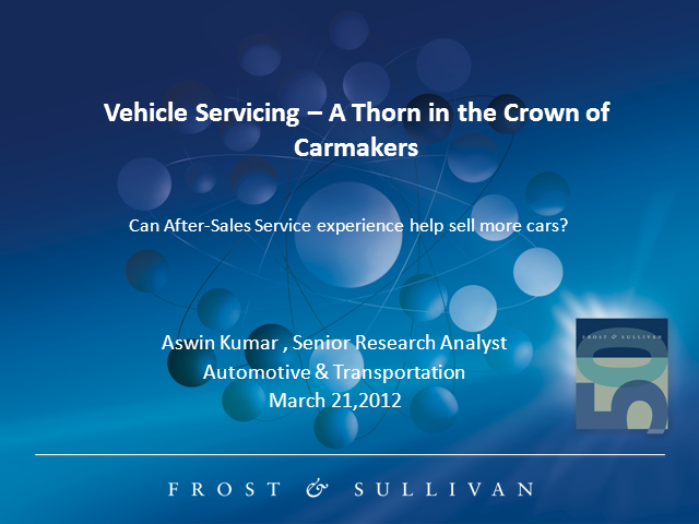 Vehicle Servicing - A Thorn in the Crown of Car Makers