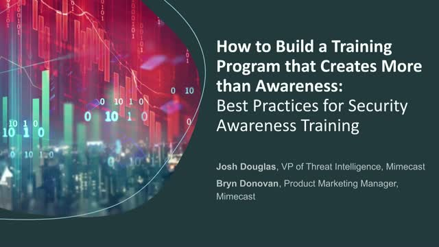 How to Build a Security Training Program that Creates More than Awareness