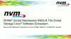 NVMe® Zoned Namespace SSDs & The Zoned Storage Linux Software Ecosystem